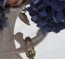 Blue Hydrangeas - Digital Gouache Sticker