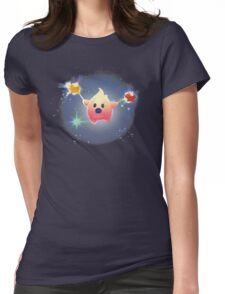 Super Mario Galaxy Hungry Luma Womens Fitted T-Shirt