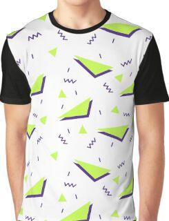 Retro Geometric Pattern Graphic T-Shirt