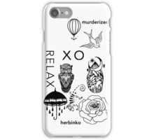 Cody Herbinko Tattoos iPhone Case/Skin