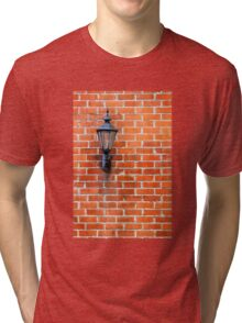 Brick Wall Light Tri-blend T-Shirt