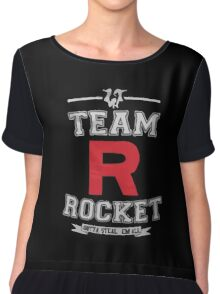Team Rocket - Limited Edition Chiffon Top