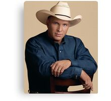 Garth Brooks Vintage Canvas Print