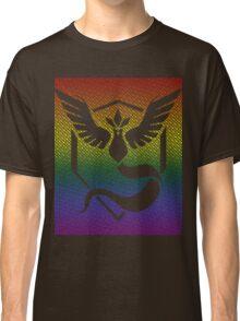 Team Mystic Word Pride Pattern Classic T-Shirt