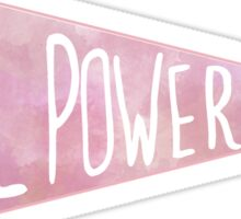Girl Power Penant Sticker
