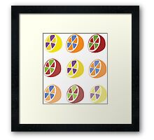 Complemontry Colors Framed Print