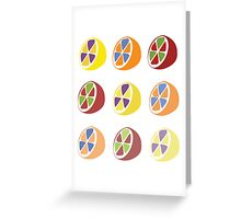 Complemontry Colors Greeting Card