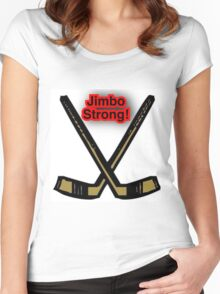 Jimbo Strong Women's Fitted Scoop T-Shirt