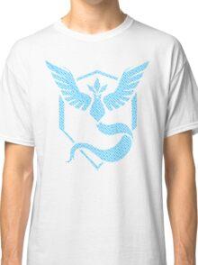 Team Mystic Word Pattern Classic T-Shirt