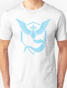Team Mystic Word Pattern Unisex T-Shirt