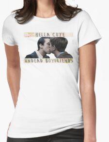 Kieren x Simon - undead boyfriends Womens Fitted T-Shirt