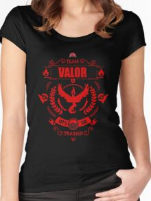 Team Valor - Limited Edition Women's Fitted Scoop T-Shirt