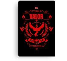 Team Valor - Limited Edition Canvas Print