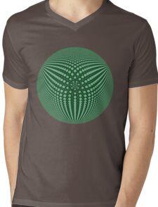 3Dphere Mens V-Neck T-Shirt