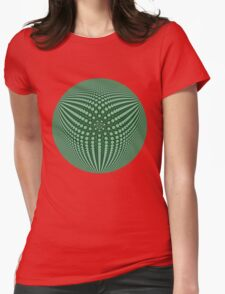 3Dphere Womens Fitted T-Shirt
