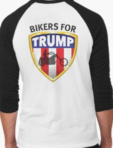 Bikers For Trump Men's Baseball ¾ T-Shirt