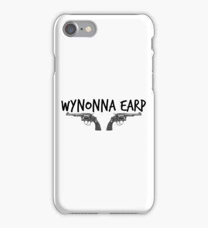 Wynonna Earp Minimal Peacemaker iPhone Case/Skin