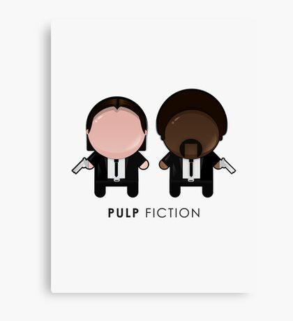 Pulp Fiction // Jules and Vincent Canvas Print