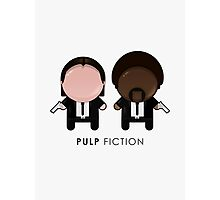 Pulp Fiction // Jules and Vincent Photographic Print