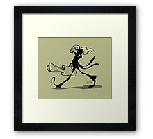 The gifted introvert Framed Print