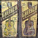 gretsch guitars by kathy archbold