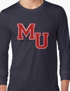 Mars 2030 - The University Of Mars Long Sleeve T-Shirt