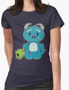 Hello Monster Womens Fitted T-Shirt