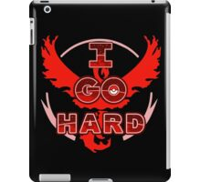 I Go Hard - Valor iPad Case/Skin