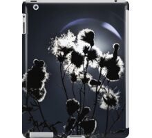 Weed silhouette iPad Case/Skin