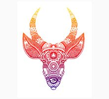 Deer with Horns - Zentangle Unisex T-Shirt