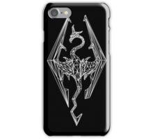 80's Cyber Imperial Elder Scrolls Logo iPhone Case/Skin