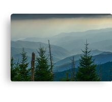 The Great Smoky Mountains, Tennessee. Canvas Print