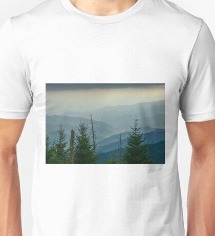 The Great Smoky Mountains, Tennessee. Unisex T-Shirt