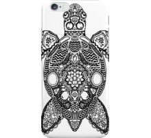 Sea Turtle - Zentangle iPhone Case/Skin