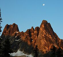 North Cascades National Park by Randy Richards