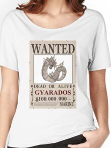 Gyarados Wanted Women's Relaxed Fit T-Shirt