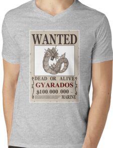 Gyarados Wanted Mens V-Neck T-Shirt