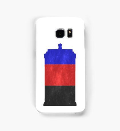 Polyamorous Pride Police Box Samsung Galaxy Case/Skin