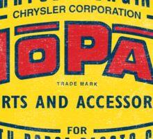 Mopar Parts and Accessories Sticker
