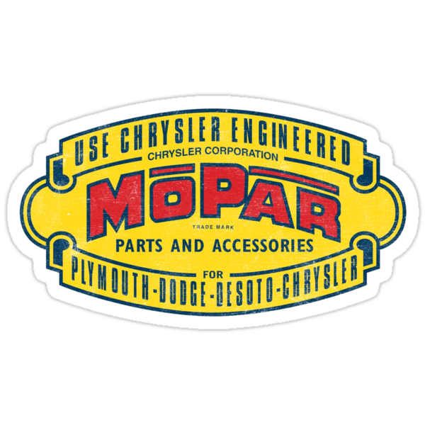 Mopar Parts and Accessories by Tasty Brand