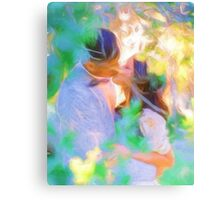 Eight Summer Weddings Part1  Canvas Print