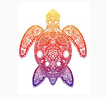 Rainbow Sea Turtle - Zentangle Unisex T-Shirt