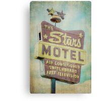 The Stars Motel Metal Print