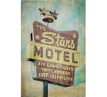 The Stars Motel Photographic Print