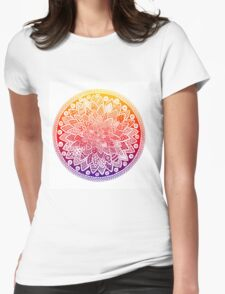 Sphere Design - Zentangle  Womens Fitted T-Shirt