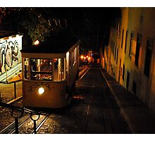Lisbon at Night Photographic Print
