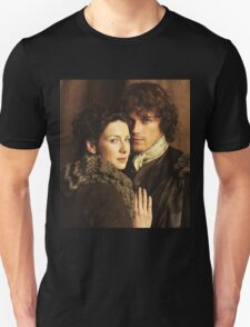 Jamie and Claire Outlander 2 Unisex T-Shirt