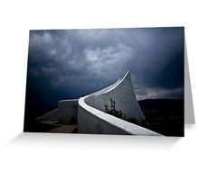 Edge of The Tornado  Greeting Card