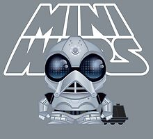 MiniWars: Death Star Droid w/MOUSE droid Loose by Ryan Spencer