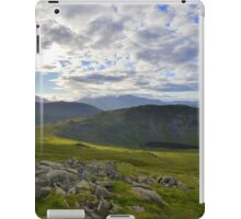 The Lake District: Middle Fell iPad Case/Skin